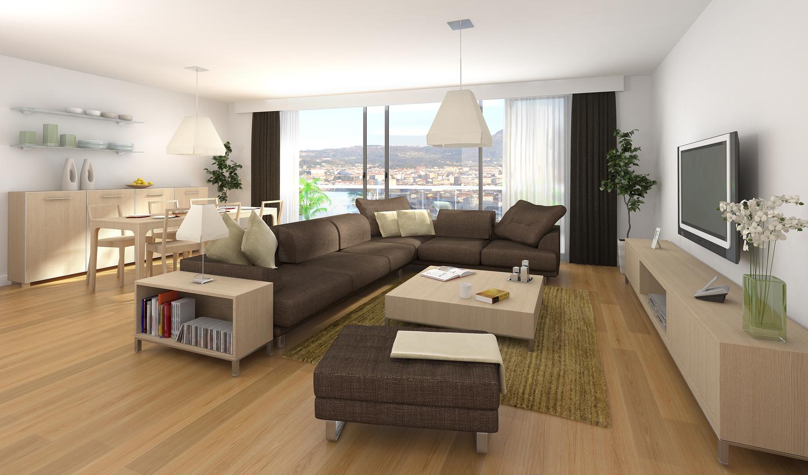 Modern sedacie s pravy s z kladom trendy ob va ky en for Immagini di appartamenti moderni