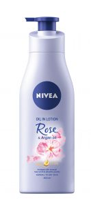 NIVEA_TelovВ mlieko Rose & Argan oil, NIVEA, 200 ml