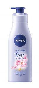 NIVEA_TelovВ mlieko Rose & Argan oil, NIVEA, 200 ml