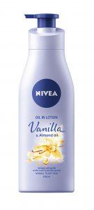 NIVEA_TelovВ mlieko Vanilla & Almond oil, NIVEA, 200 ml